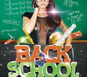 Elli bar: Back 2 school party